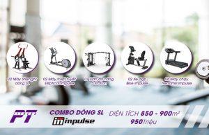 Combo hoàn hảo Dòng SL thương hiệu IMPULSE 850 – 900m2 đầu tư 950 triệu