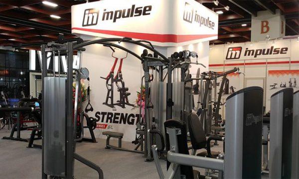Các thiết bị tập gym Impulse đều có mẫu mã đa dạng