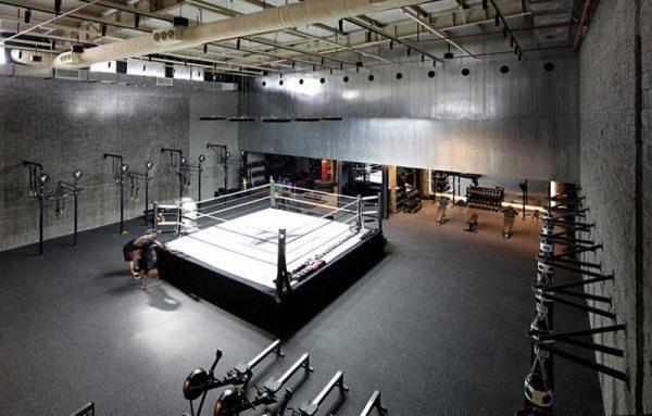 thiet-ke-phong-tap-boxing-co-san-thi-dau